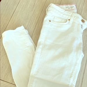 Kate Spade white jeans